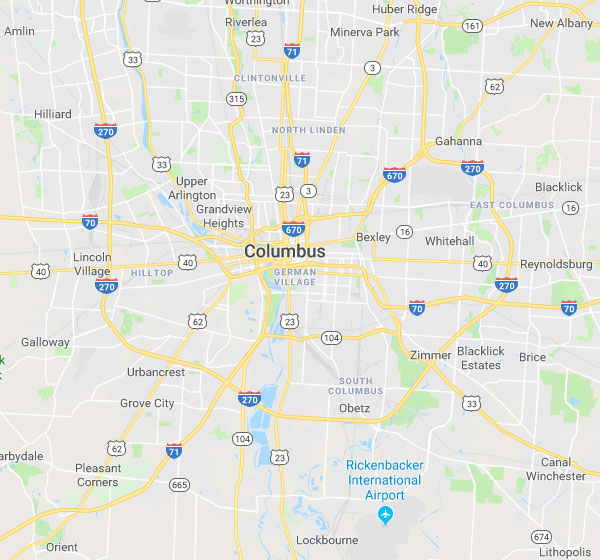 Columbus OH Security Sales Territory