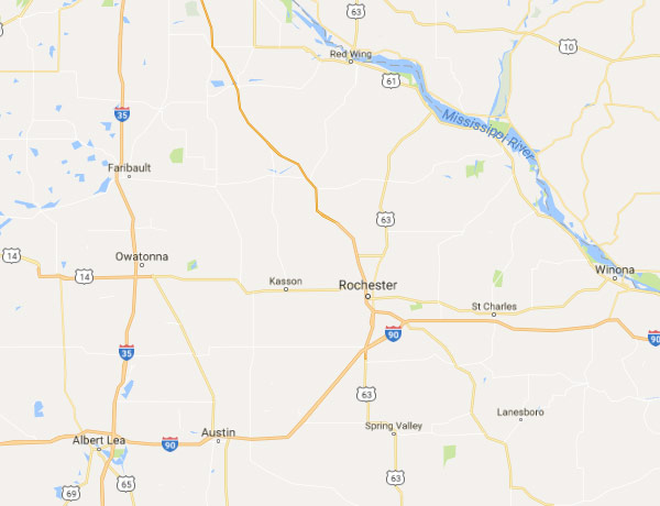 Rochester MN Security Sales Territory