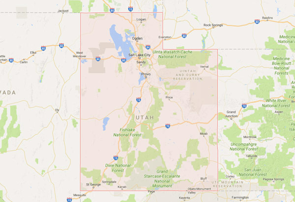 Utah Security Sales Territory