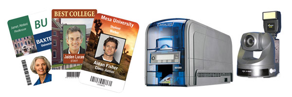 College and University Staff Employee ID Badges