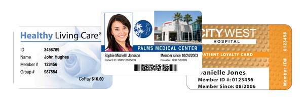 Healthcare, Medical, Patient ID Cards