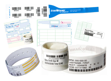 Patient ID Wristbands and Labels