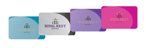 Pre-Printed Hotel Gift and Loyalty Cards