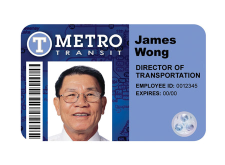 Transit Employee Badges