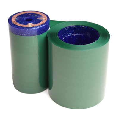 green monochrome roll for ID cards